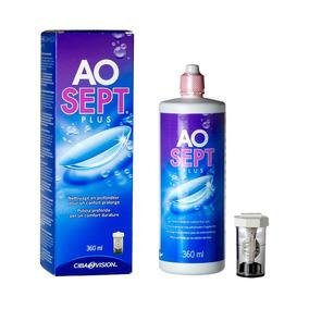Aosept Plus 360 Ml Solución Limpieza Lentes De Contacto
