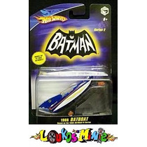 Hot Wheels Batman 1966 Batboat Series 3 Lacrado 1:50 Mattel