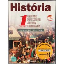 Livro História Vol 1 - Manual Do Professor Nova Ortografia..