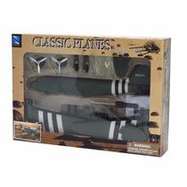 Kit Montar Avião Dc-3 Verde New Ray