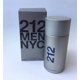 Perfume Locion Carolina Herrera Ch 212 200 Ml Men Original