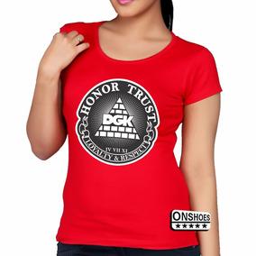 Camisa Baby Look Honor Trust Dgk Dtg