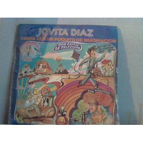 Jovita Diaz Canta Con Un Poquito De Imaginacion Vinilo Retro