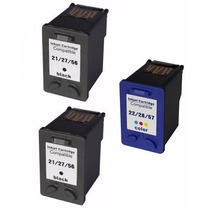 Kit 2+1 Cartucho De Tinta Hp 27 E 28 Hp Psc 1315