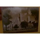 Caixa De Fósforo Antiga Lembrança De São Paulo Centro