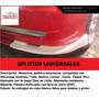 Splitters Tuning Universales De Parachoque