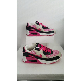 Tenis Nike Air Max Hiperfuse 90 Gs Premium Mujer # 25