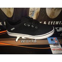 Zapatilla Feel World De Skate Mod 250 Negra **zona Munro**