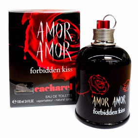Perfume Amor Amor Forbidden Kiss Dama 100ml Original 100%