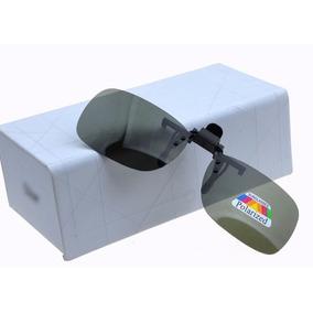 9fc1e89eca8bd Clipon Para Óculos De Grau Proteção Uv400 Polarizado Clip On