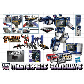 Transformers Masterpiece Mp-02 Soundwave With 5 Cassettes