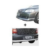 Spoiler Dt + Tr + Aerofolio Astra Hatch 03/11- Kit