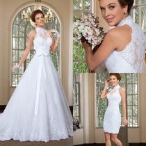 Vestido De Noiva Importado Igreja Casamento Sob Confecção