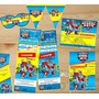 Kit Imprimible Transformers Rescue Bots Candy Bar