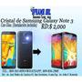Oferta Cristal Samsung Galaxy Note 3 Nueva