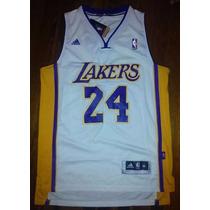 Musculosas Basket Nba La Lakers #24 Para Niños
