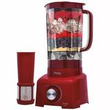 Liquidificador Barato 900w Vermelho Garantia + Frete Gratis