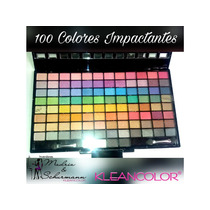 Cosmeticos Kleancolor !!!! Paletas 100 Colores Al Mayor