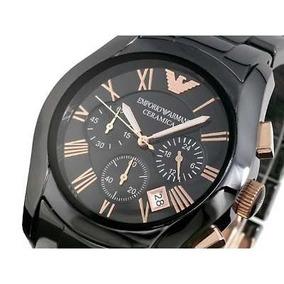003390b1c6d Relógio Emporio Armani Ar1410 Preto Com Dourado Na Caixa Masculinos ...