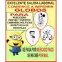Articulos Para Colegio Nuevos Oficios Imprimi Globos