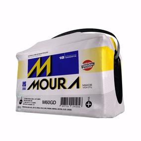 Bateria Moura 60ah, 12x Sem Juros P/ Retira Em Mãos C/ Casco