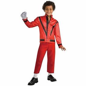 Disfraz Chaqueta Michael Jackson Thriller Traje Rojo