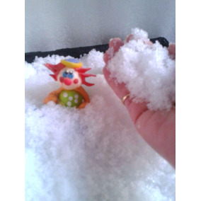 Nieve Magica Artificial Preparada! 1 Kilo Deco Navidad