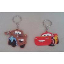 Bonito Set Llaveros Infantiles Cars Amigos Rayo Mcqueen Mate