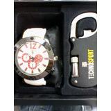 Reloj Tswatch By Technosport Con Navaja Destapador