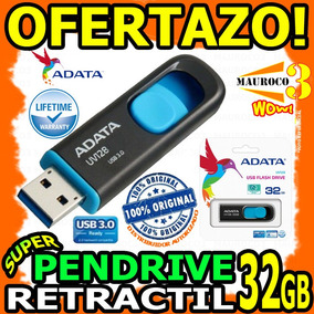 Wow Pendrive 32gb Adata Usb 3.0 En Blister Sellados Original