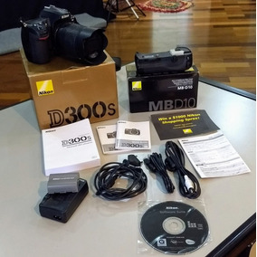 Nikon D300s + Brip Original + Lente 18-105mm Vr