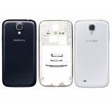 Carcaça + Aro Cromado Galaxy S4 I9505 I9500 Tampa Traseira