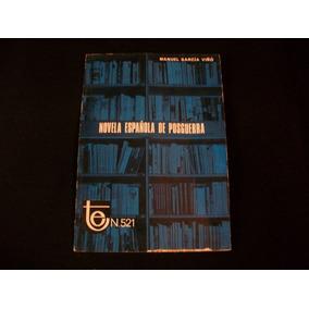 Novela Española De Posguerra Manuel García Viñó