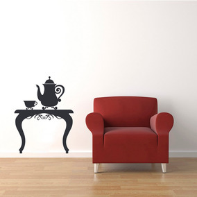 Adesivo De Parede - Aparador Chá