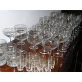 569- Juego De Copas Agua Vino Champagne Whisky Licor 58 Copa