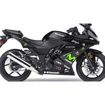 Adesivo Moto Kawasaki Ninja 250 Carenagem Ninja 250