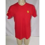 Camisa Da Escuderia Ferrari Shell - Fórmula 1 - Licenciada
