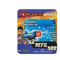 Refil Lançador Xploderz X2 Invader C/ 500 - 401 Sunny