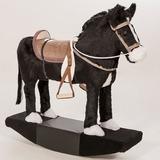 Cavalo Cavalinho Aprovado Madeira Brinquedo Certificado Peça