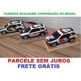 Miniaturas Viaturas Policia Palio Weekend 1/18-frete Gratis