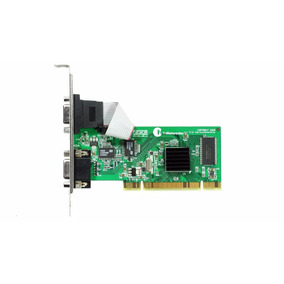 Placa De Vídeo Thinetworks 16mb Pci Tn 502 Dual Vga