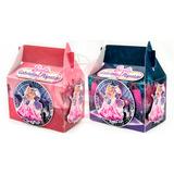 Kit 30 Caixinhas Barbie Pop Star Lembrancinha Personalizadas