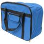 Bolsa Mala Maleta Para Máquina De Costura Doméstica Azul