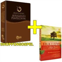 Bíblia Estudo Avivamento Pentecostal + Bíblia Leitura Diária