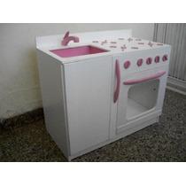 Cocina Infantil (cocina Y Pileta Integrada), Para Nenas