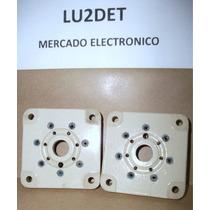 Zocalos De Porcelana Para Valvulas 826 / 832 / 3e29 Nuevos