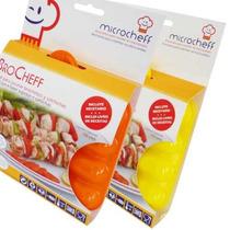 Brocheff - Molde Brochettes Y Salchichas P/ Microondas