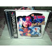 X-men Vs Street Fighter - Para Ps1,ps2 E Pc - Completo