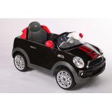 Auto A Batería Mini Cooper Negro Bebesit - Envíos Gratis!