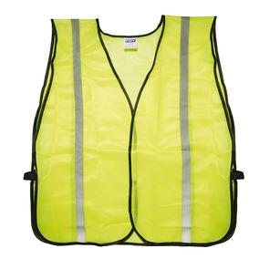 Chaleco De Seguridad Tela Amarilla Cintas Reflejantes Foy 14